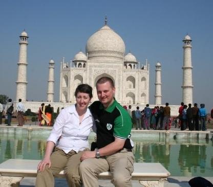 The Taj Mahal - Agra - India